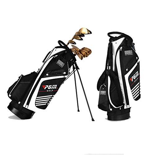 LXYIUN Golftasche,Ultraleicht Hohe Kapazität Halterung Waffentasche,White
