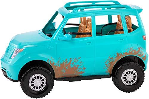 Mattel Barbie FGC99 Jeep da Campeggio, Playset con Veicolo e Bambola Inclusa, Bambini 3+ Anni