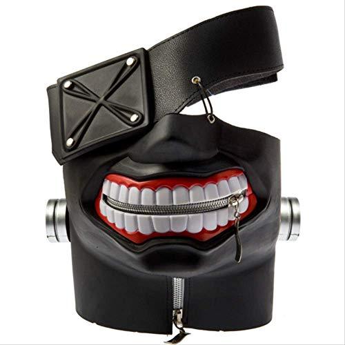 baoqsure Latex Maske Halloween-maskengeschenke Für Männer Stereo Tokyo Ghoul Arten Jinmuyan Maske Cos Props Maske Anime Maske Rolle Spielen (Spiel Ghoul Tokyo)