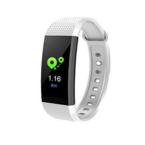 Sport Montre Connectée Etanche Fitness Tracker Watch d'Activité avec Cardiofréquencemètres,Podomètre,Moniteur de Sommeil pour IOS Android Smart Phone