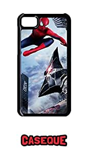 Caseque The Amazing Spiderman Rhino Punch Back Shell Case Cover For BlackBerry Z10