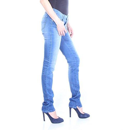 Diesel Femme Jeans Pantalon Joggjeans Sweat-Grupee NE Small Step 0837T Blue Denim