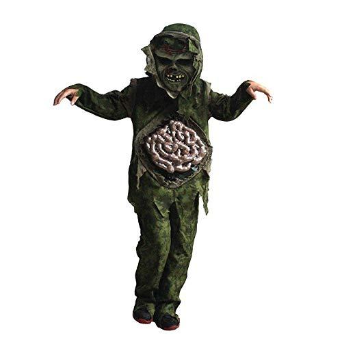 Kostüm Thriller Kinder - Noble Halloween Kinder Prom Kostüm Kinder Horror Thriller Darmgeister Blutige Dickdarmgeister Grüne Geister B
