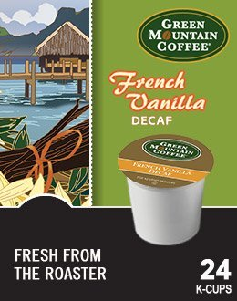 Green Mountain Coffee Green Mountain French Vanilla Decaf & Hazelnut Decaf Flavored Variety Pack 48 K-Cups For Keurig