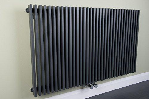 Wärmehaus ® Radiateur eau chaude Finnmark - 1237 W - 600 x 1020 - Gris anthracite - Chauffage central