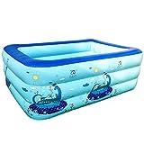 WKMJUSX Pool In Der Familienunterhaltungslounge - Aufblasbares Hausschwebebett, Schwimmzentrum, Pool...