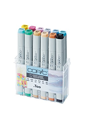 Copic Marker - Pastellfarben - 12er Set