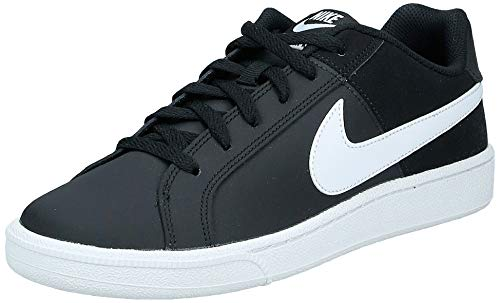 Nike Court Royale, Zapatillas para Mujer, Negro Black/White 010, 37.5 EU