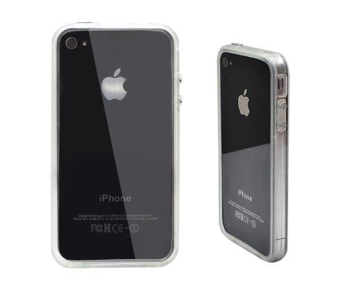 Xcessor Bumper Coque de protection pour Apple iPhone 4 transparent