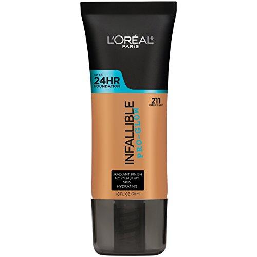 Base maquillaje larga duración Pro Glow L'Oreal Paris