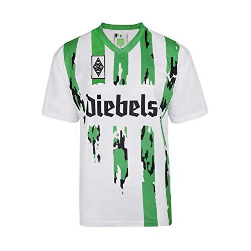 Score Draw Borussia Moenchengladbach 1995 - Camiseta de fútbol - Blanco - Small