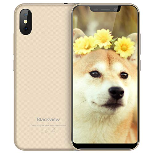 Blackview A30 - (2018) Smartphone Libre Dual SIM 5.5 Pulgadas (19: 9) FHD Android 8.1 Telefonos Moviles Baratos Dual...