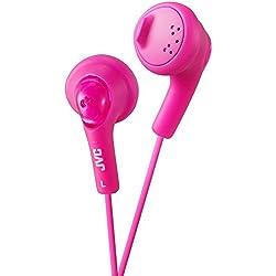 JVC Gumy écouteurs intra-auriculaires ha-f160-p Pêche pink3.5mm [Pack taille: 2] Pro-Series (marque Vérifié)