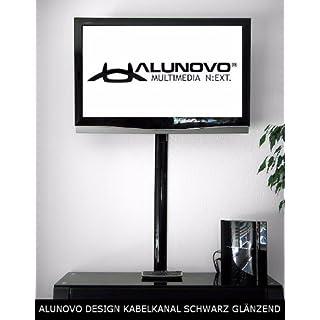 Alunovo Kabelkanal (L x B x H) 250 x 80 x 20 mm black (glänzend) Inhalt: 1 St.