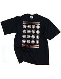 Technics Battle Weapons DJ Mens T-Shirt D012S Dmc