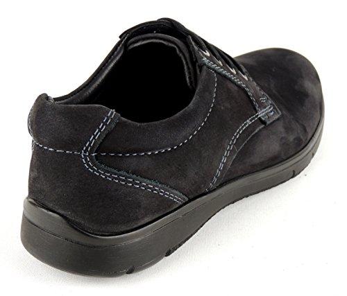 ara Men Lacets Noir nubuck Weite G Protections Convient 25202–01 Noir