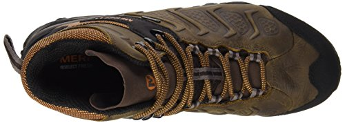 Merrell Chameleon Shift Mid Gtx, Chaussures de randonnée basses homme Vert (Bitter Root)