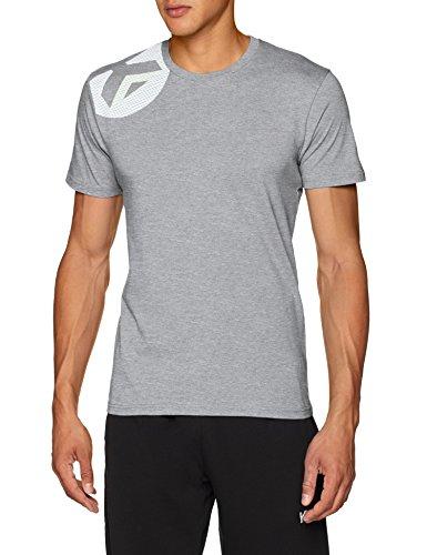 Kempa Core 2.0 T-Shirt Herren, Dark grau Melange, XXL