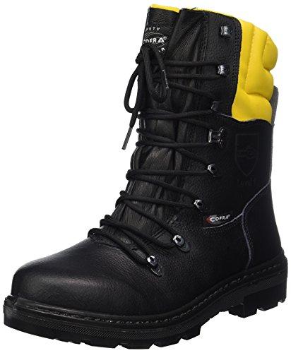Preisvergleich Produktbild Cofra Schnittschutz-Stiefel Woodsman BIS Forstarbeiter Arbeitsstiefel mit Sägeschutz 41, schwarz, 25580-000