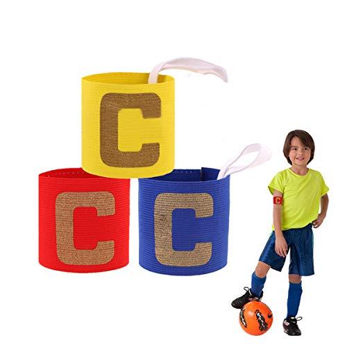 ASTARC Fútbol Capitán Brazalete para niños