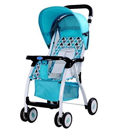 ALIFE Kinderwagen Leichtgewicht Von Geburt an Falten Kinderwagen Kinderreisebuggy Reha-Buggys,Green