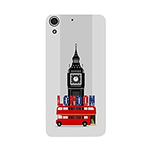 Digi Fashion Designer Back Cover with direct 3D sublimation printing for HTC Desire 728G