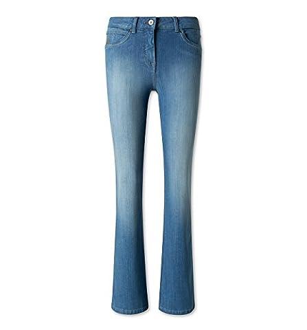 C&A Damen Jeans THE CLASSIC BOOTCUT jeans - blau Größe 48 kurz