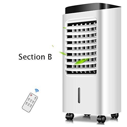 Klimaanlage Ventilator Kälteventilator zu Hause mobile Kühlschrank kleine Klimaanlage plus Wasser-Fernbedienung Kaltluft-Kühler Ventilatoren