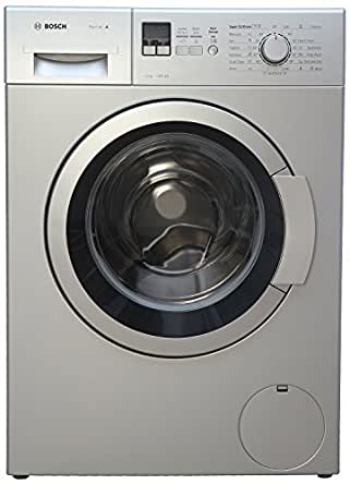 Bosch 7 kg Fully-Automatic Front Loading Washing Machine (WAK24168IN, Silver)