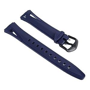 Casio Ersatzband Uhrenarmband Resin Band Dunkalblau STR-300C-2VER STR-300C