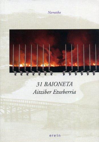 Portada del libro 31 baioneta (Narratiba)