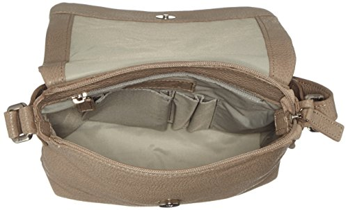 Leonhard Heyden, Jost Adult Vika Shoulder Bag, Sac bandoulière mixte adulte Vert mousse
