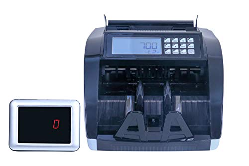 ZEXA Banker Advanced Value Counter for Currency and Counterfeit Note Detection - for Professional USE/Heavy Duty