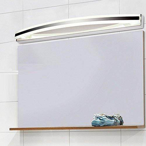 Lampada da parete a risparmio energetico a led lampada da trucco antiappannamento a specchio antiappannamento moda semplice lavandino del bagno,natural,8w/40cm
