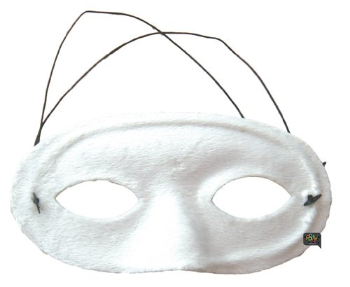 Kostüm Venitiens - Party Pro 87322506 Maske Venitien Wolf Velvet White