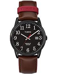 dd02a10a472f Timex Reloj Analógico para Unisex Adultos de Automático con Correa en Cuero  TW2R62300