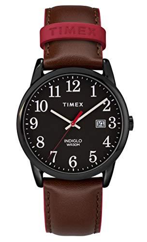 Timex Herren Analog Quartz Uhr Easy Reader Color Pop
