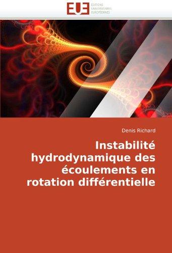 Instabilité hydrodynamique des écoulements en rotation différentielle (Omn.Univ.Europ.)