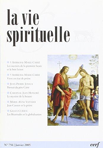 La Vie Spirituelle N?756 par Collectif