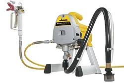 Wagner Airless Sprühgerät ProjectPro 117 für wasser- und lösemittelhaltige Materialien im Innenbereich, 15 m²-3 min, Druckregulierung, 200 bar, Schlauch 10 m