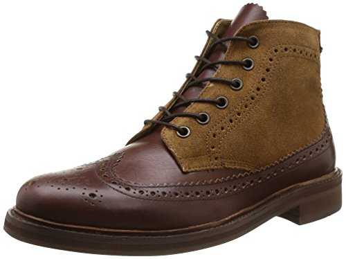 Hudson Hemming, Boots homme Marron (Calf Brown Multi)