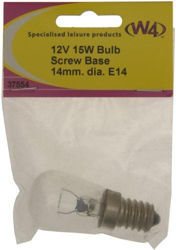 W4 12V 15W Bulb – Transparent