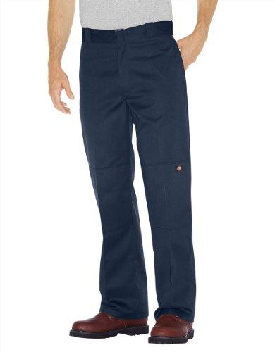 Dickies Navy Pant (Dickies - - 85-283 Double Knee Work Pant, 54W x 30L, Dark Navy)