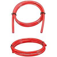 Queta Benzinschlauch Benzinschlauch Benzinschlauch Benzinschlauch PU Schlauch für Universal Fahrzeug Motorrad rot rot