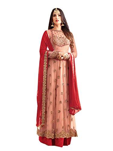 FFASHION Women's Dress Material (SP-25005_Multi_Free Size)