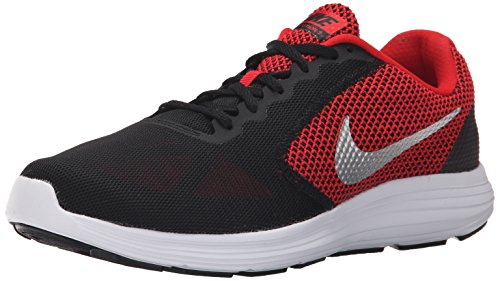 Nike Revolution, Running Homme, Rouge (University Red/Metallic Silver Black White), 40 EU