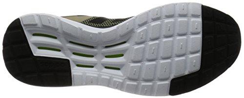 adidas Cloudfoam Super Racer, Scarpe da Ginnastica Uomo Verde (Vertra/Negbas/Stcaqp)