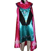 Disfraz Frozen Elsa Frozen Disney Carnaval niña MSC tamaño 122