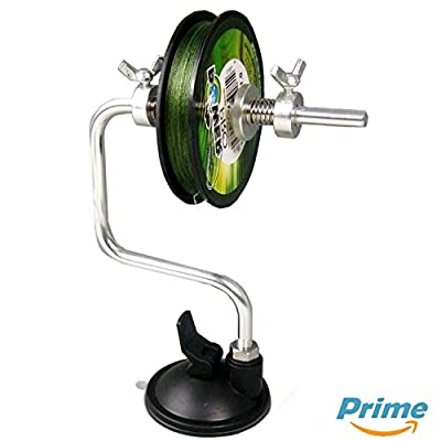 Fishing Line Spooler - By Ultimate Angling®- NOW With Advanced Suction Cup & Spool Control from Cyber Sales