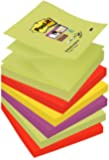 Post-it 76 x 76 mm Super Sticky Z-Notes Pads - Marrakesh (Pack of 6)